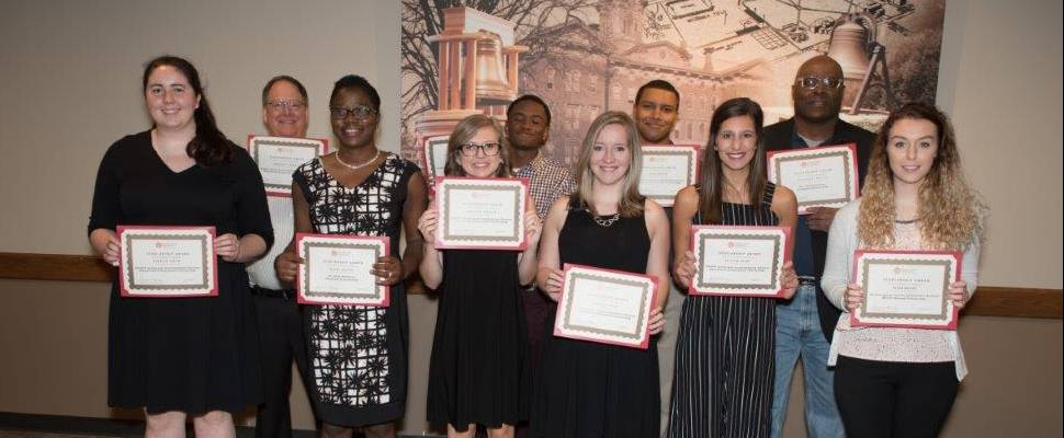 photograph of scholarship recipients